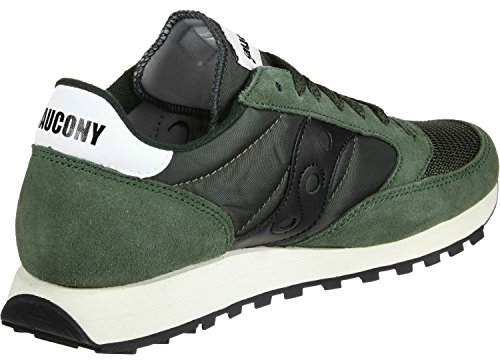 Saucony Jazz O Vintage Herren Cross-Trainer, Grün (Dark Grün / Schwarz), 45 EU (10 UK)