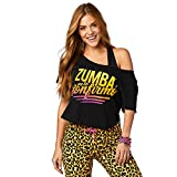 Zumba Fitness Confirmo Top Damen Tanktops Frauentops, Bold Black, M