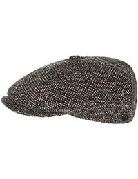 Lierys Tweed Schildmütze für Damen und Herren Wollkappe Wollmütze Wintercap mit Futter, mit Futter, mit Schirm, mit Schirm Herbst Winter