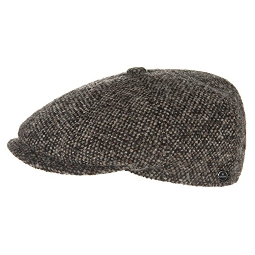 Lierys Tweed Winter Schirmmütze Damen/Herren | Flatcap Made in Italy | Mütze...