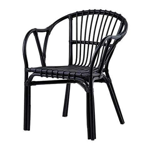 IKEA HOLMSEL - Fauteuil, noir