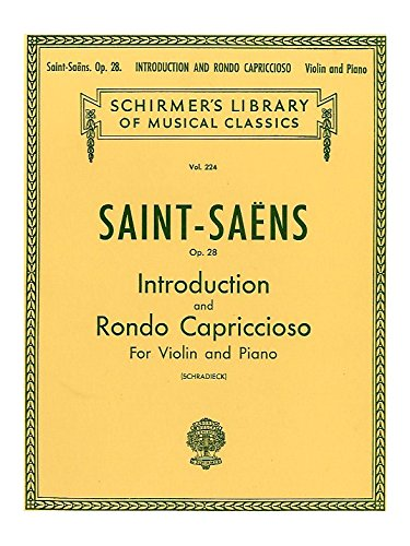 Introduction And Rondo Capriccioso, Op. ...
