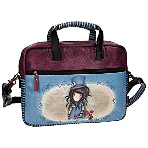 Santoro Gorjuss The Hatter Borsa Borsa Messenger a Spalla Porta Pc Tablet