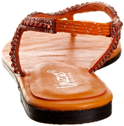 Unze Evening Sandals, Sandali donna Arancione (Orange (L18361W))