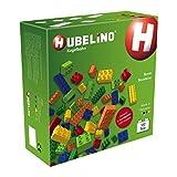 Hubelino 420237 - Kugelbahn - Bunte Bausteine und Platten - ab 3 Jahre (100 % kompatibel mit Duplo) - 102 Teile