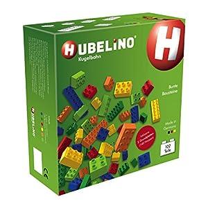 Hubelino 420237-Canicas-Mosaico de Ladrillos y Placas-A Partir de 3años (100% Compatible con Duplo)-102Piezas