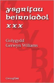 Ysgrifau Beirniadol XXX: XXX