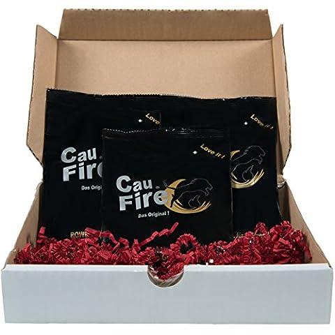CauFire Energie - L Arginine 10% Multipower To Go - Idées Cadeaux / 24 morceaux (3 sacs à chaque 8 morceaux)