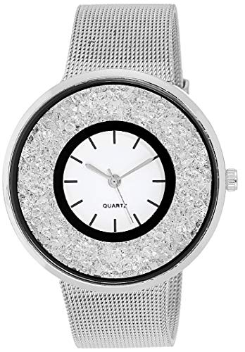 Skyloft Analog Silver Dial Women's Watch-F76