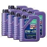 8x LIQUI MOLY 1360 Synthoil Energy 0W-40 Motoröl Vollsynthetisch 1L