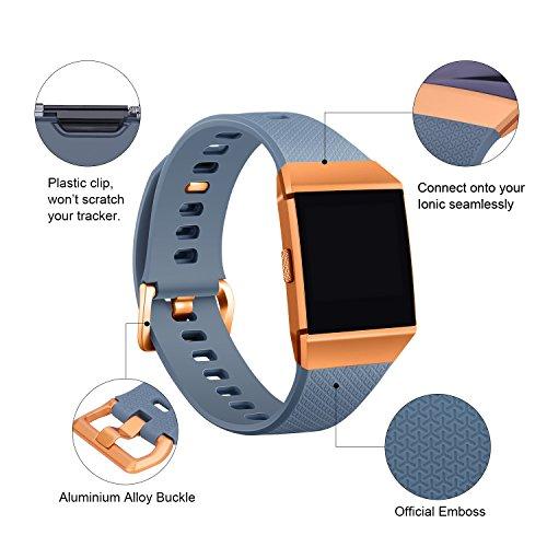 Zoom IMG-2 mornex braccialetto per fitbit ionic