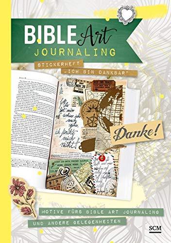 """Stickerheft """"Ich bin dankbar"""": Motive fürs Bible Art Journaling und andere Gelegenheiten"""