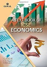 Economics: Textbook for ICSE Class 9