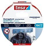 tesa Ultra starkes Montageband für Fliesen und Metall, 5m x 19mm
