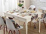 JUNYZZQ Repas Occidental Drapeau Pays Américain Simple Mode Table Drapeau Décoration Lit Drapeau Drap De Table Basse en Tissu Drapeau TV, 32X200Cm