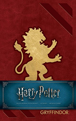Harry Potter: Gryffindor Hardcover Ruled Journal (Harry Potter Journals)