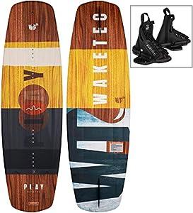 WAKETEC Wakeboard-Set Play 134 cm mit Onset Bindung, Package für Anfänger und...
