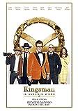Locandina Kingsman: Il Cerchio d'Oro (Blu-Ray 4K UHD + Blu-Ray)