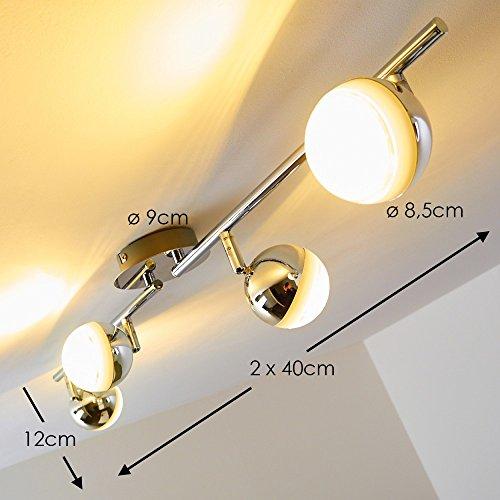 LED-Plafoniera-da-soffitto-lunga-faretti-4x5W-in-metallo-cromato