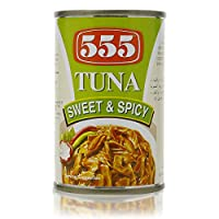 ‏‪555 Tuna Sweet And Spicy  - 155 gm‬‏