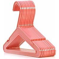 Hangerworld Children's Pink 26cm Plastic Coat Hangers for Baby & Toddler Clothes, Pack of 50