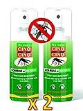 Cinq sur Cinq Natura Protection Contre Les Moustiques Formule au Naturel - Lot DE 2 x 100ml