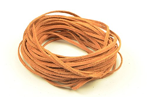 CraftPal LeatherCord Suede Bark