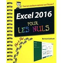Excel 2016 Pour Les Nuls by Bernard Jolivalt (2016-05-15)
