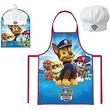 Paw Patrol - Set de cocina infantil, delantal y gorro cheff (Sun City PPA101852)