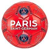 PSG–Official Paris Saint-Germain 'firma' Pallone da calcio–rosso