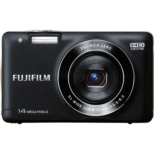 Fujifilm FinePix JX500 Digitalkamera, 14 Megapixel, 5-fach opt. zoom) schwarz