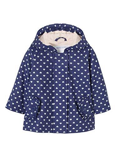 d1b01742632a9 Vertbaudet Ciré bébé Fille à Motifs avec Capuche Bleu Royal 24M - 86CM