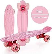 "Small Fish Board, Children Skateboard, Complete Skateboard 22"" Boards, PP Plastic Panel And Small Skatebo"