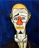 Arter Leinwand-Schild, hängendes Bild, Hintergrund, Kunst, Triptychon modern, handbemalt, Landschaft, Portraitbild, ohne Rahmen, 75 x 100 cm