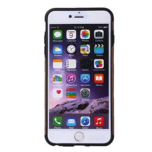 Phone case & Hülle Für iPhone 6 / 6s, Walnuss Holz Paste Haut PU Schutzhülle ( SKU : S-IP6G-0863C ) S-IP6G-0863B