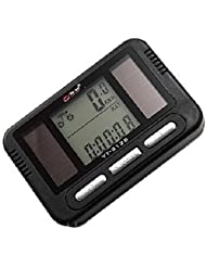 West Biking Solar Bike LCD-Computer odometers Fahrrad Tacho mit Blacklight