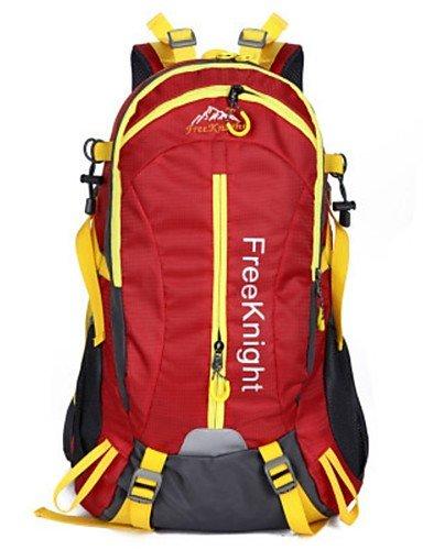 ZQ 75L L Rucksack Camping & Wandern / Reisen Draußen Wasserdicht andere Nylon N/A Red