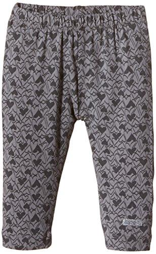 NAME IT Baby - Mädchen Legging Nitlilje Nb Cu 515, All over print, Gr. 68, Grau (Frost Gray) (Print-leggings Engen Hosen)
