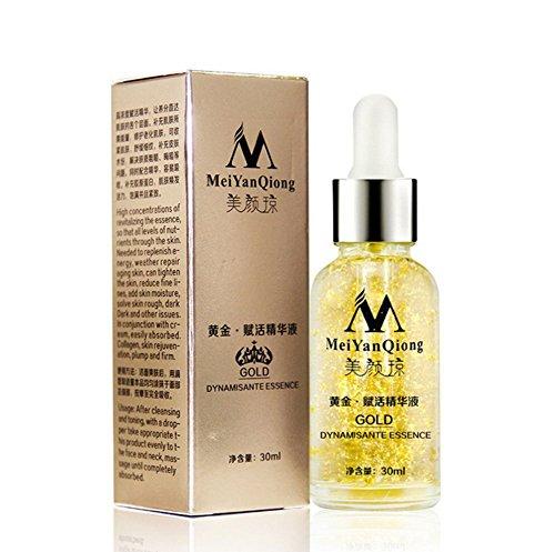 BOBORA 24K Gold Aging Falten Anti-Aging Feuchtigkeitsspendende Pure Collagen Liquid Gesichtscreme -