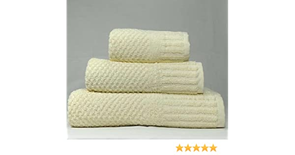 Quick Dry 450gsm linenHall Spa Waffle Hand Towel In Silver Grey