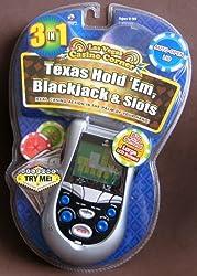 Las Vegas Casino Texas Hold Em 3 In 1 Handheld Game