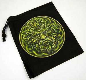 Tarot Bag Pouch Green Man By Lisa Parker 20X24cm