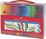 Faber-Castell 155208–Stylo feutre CONNECTEUR Feutre de coloriage 60er