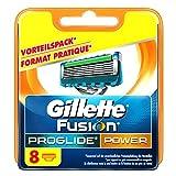 Gillette Fusion Proglide Power - Hoja de afeitar para hombre, 8 unidades