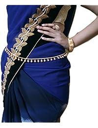 Womensky Gold Polished Kamarpatta / Waist Chain For Women