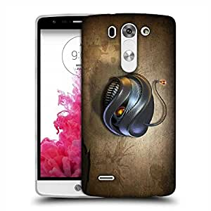 Snoogg Angry Bomb Designer Protective Phone Back Case Cover For LG G3 BEAT STYLUS