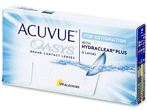 Johnson & Johnson Acuvue Oasys for Astigmatism 6er Box -9.00 Dioptrien