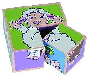 Simba Eichhorn 100005804 - línea de Ovejas - Cubos de Imagen, Colorido