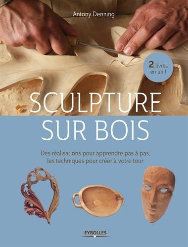 Sculpture sur bois : Des réalisations pour apprendre pas à pas - Les techniques pour créer à votre tour par Antony Denning