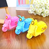Jiada Scooter Design Pencil Sharpener for Kids Birthday Return Gifts - Set of 36 Multicolour